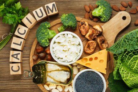 calcium almond