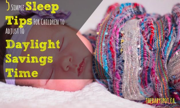 5 Simple Sleep Tips For Children to Adjust To Daylight Savings Time