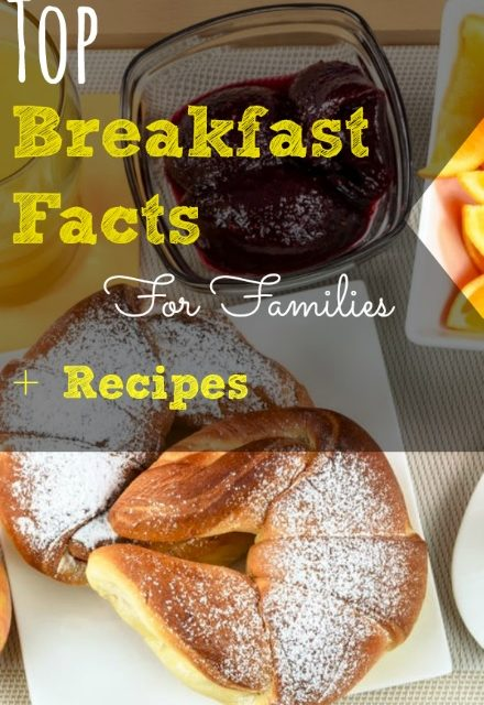 Top Breakfast Facts For Families + Recipes | The Baby Spot