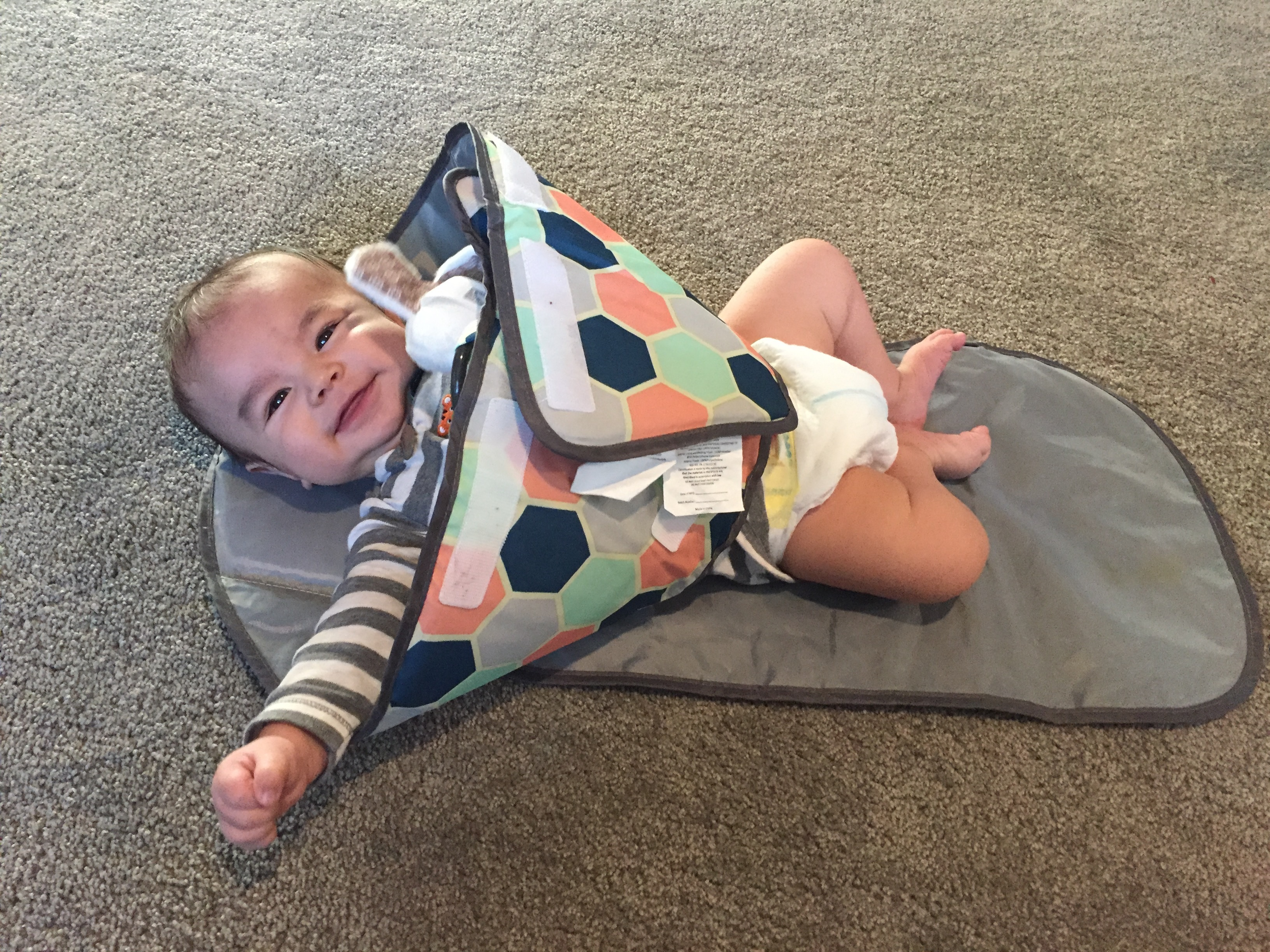 SnoofyBee Changing Pad is a must have baby product