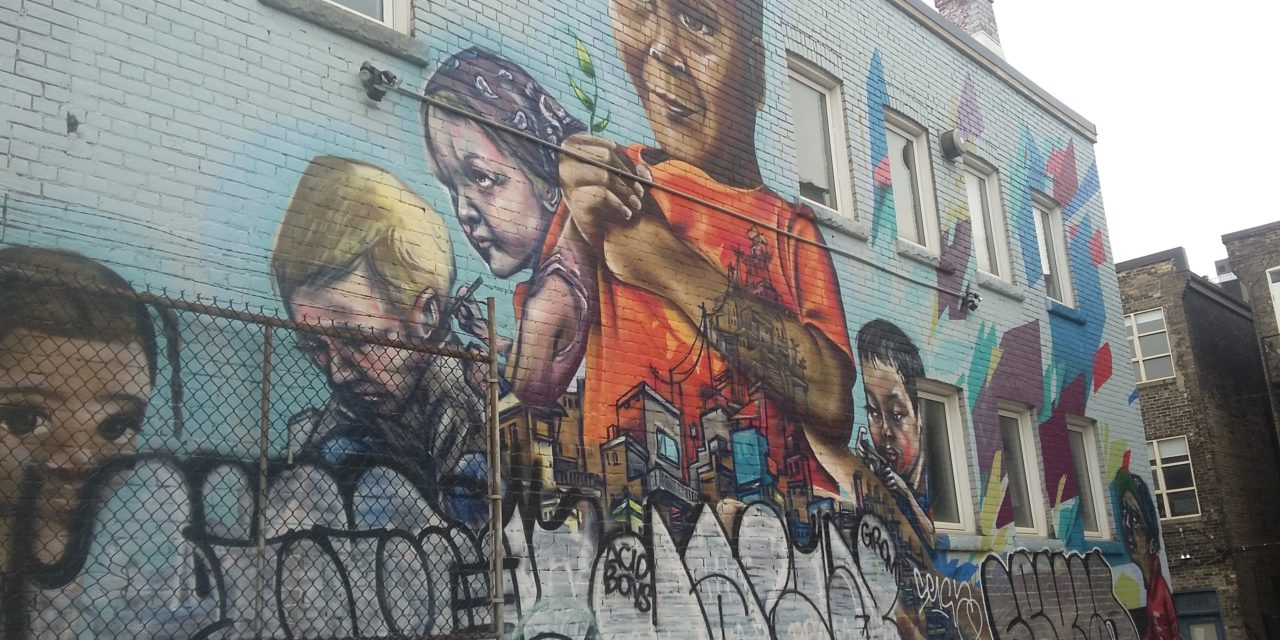 The Graffiti Tour in Toronto: A Great Date Night!