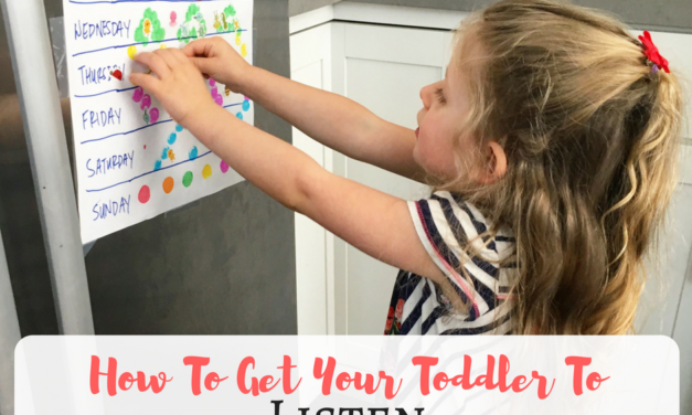 How To Get Your Toddler To Listen
