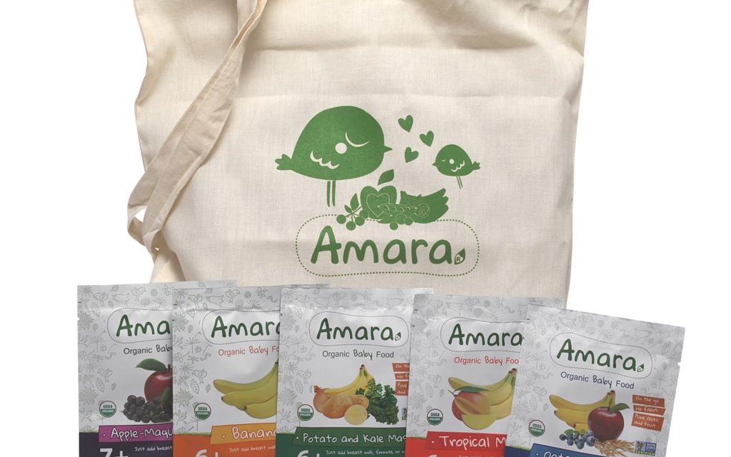 Amara Organic Baby Food For Your Baby's Nutritious, Delicious Meals!