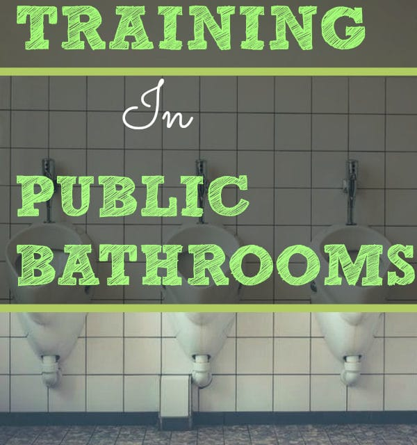 Potty Training in Public Bathrooms |Tips From a Twin Mom