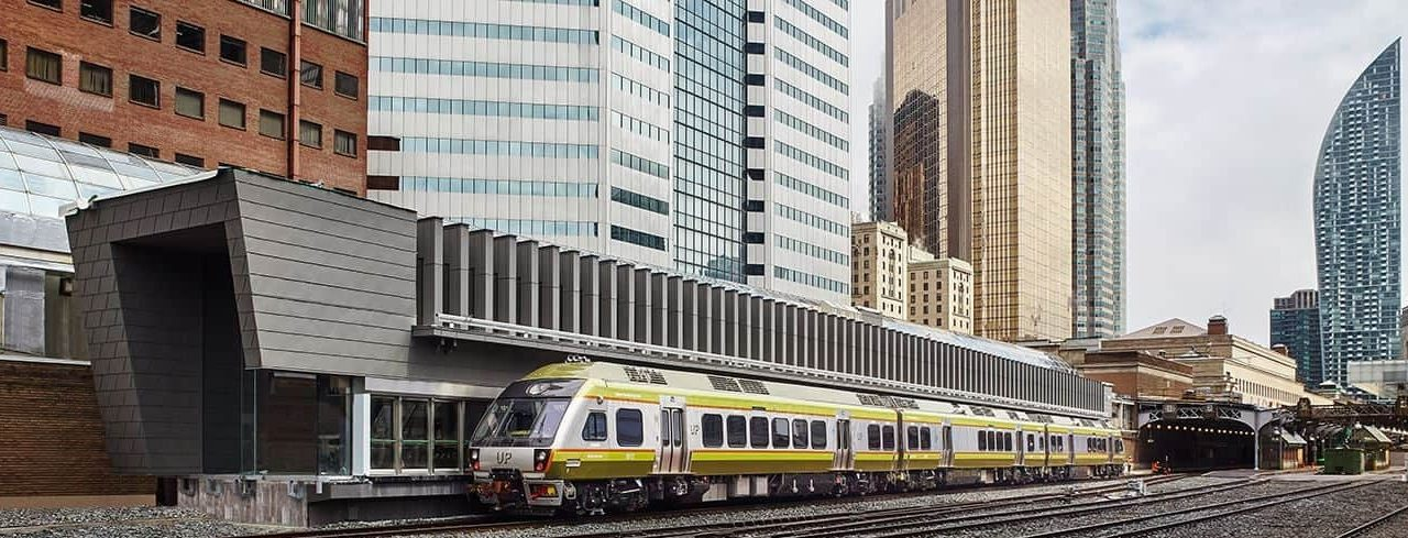 The UP Is The Best Way To Travel From Pearson Airport To Union Station In Toronto
