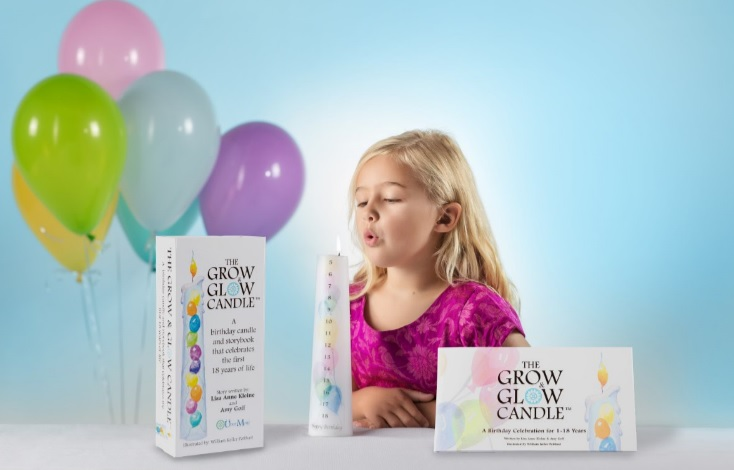 The Grow and Glow Candle Is The Perfect Keepsake For Families!
