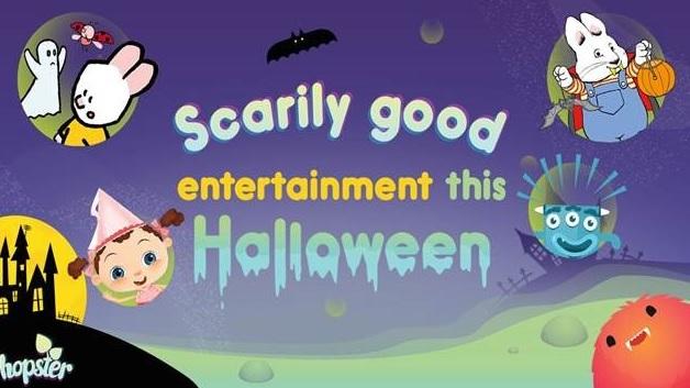 Hopster TV is Spooktacular for Kids!