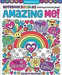 Notebook Doodles Amazing Me! Builds Confidence