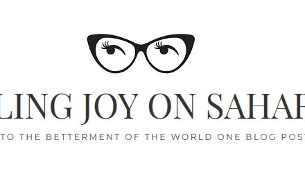 Blogger of the Week is Journalling Joy on Sahar's Blog