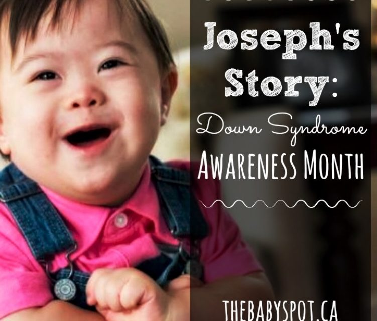 Joseph's Story: Down Syndrome Awareness Month