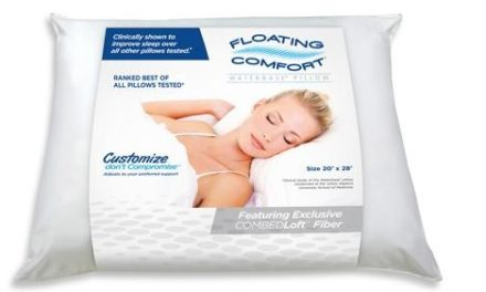 Mediflow Water Pillow Is Our Choice For a Good Night's Rest!