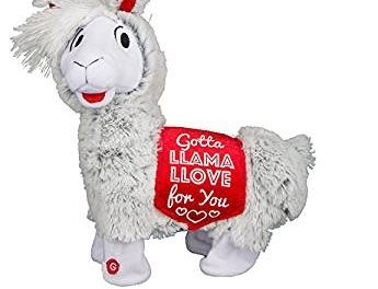 12″ Plush Twerking Llama Valentine's Day Is Making Us Laugh!
