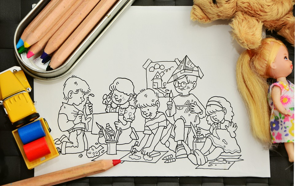 How Coloring Brings Out The Creativity in Your Child
