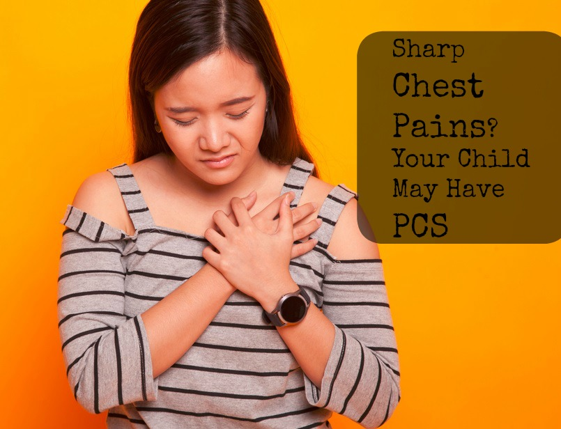 Sharp Chest Pain? Your Child Might Have PCS