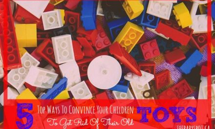 5 Top Ways To Convince Your Children To Get Rid of Their Old Toys