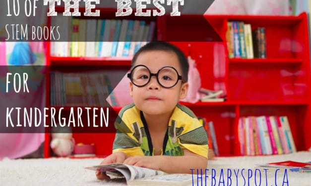 10 of The Best STEM Books For Kindergarten