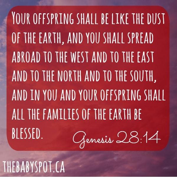 7th month pregnancy bible verses