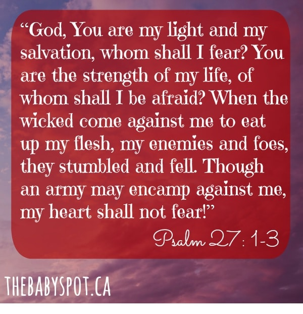 First Month Bible Verse To Pray On