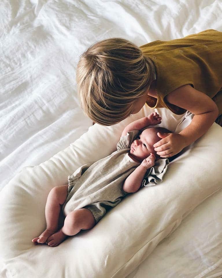 Nursery Furniture Snuggle Me Organic Baby Bed Sensory Lounger Baby