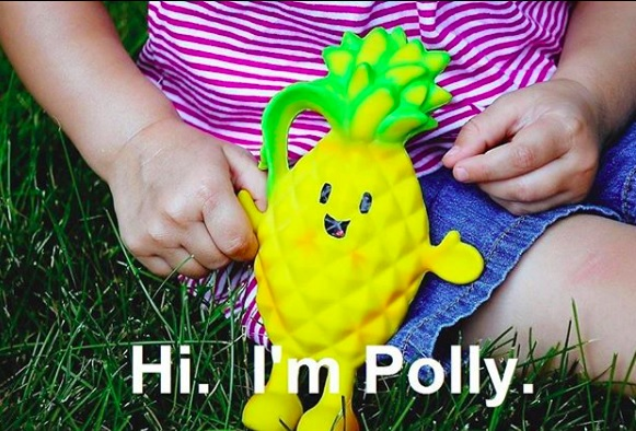 Polly Pineapple Teether Soothes Your Baby and Feeds Another!