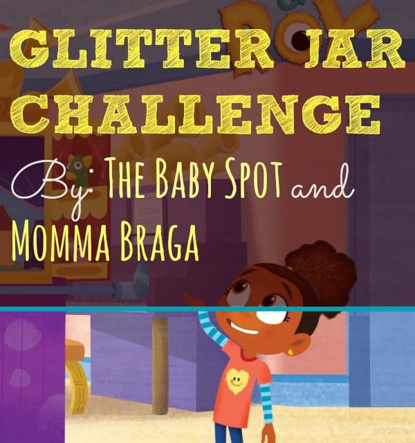Esme & Roy Glitter Jar Challenge | The Baby Spot and Momma Braga