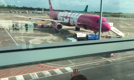 WOW Air- Traveling From Dublin To Iceland | The Baby Spot