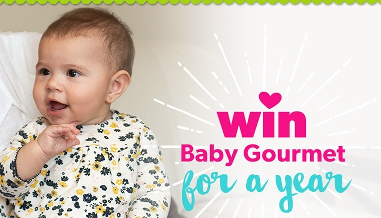 WIN BABY GOURMET FOR A YEAR