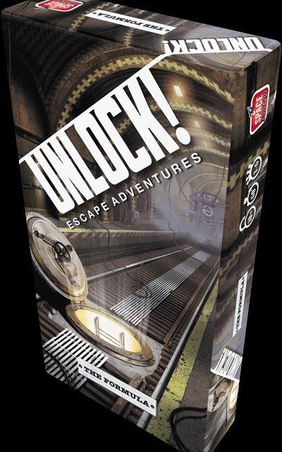 Unlock! Escape Adventures- The Formula- Review