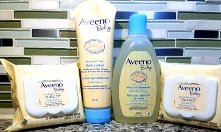 AVEENO® BABY HAND & FACE WIPES FOR OUR MESSY MOMENTS!