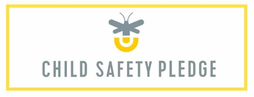 the child safety pledge logo