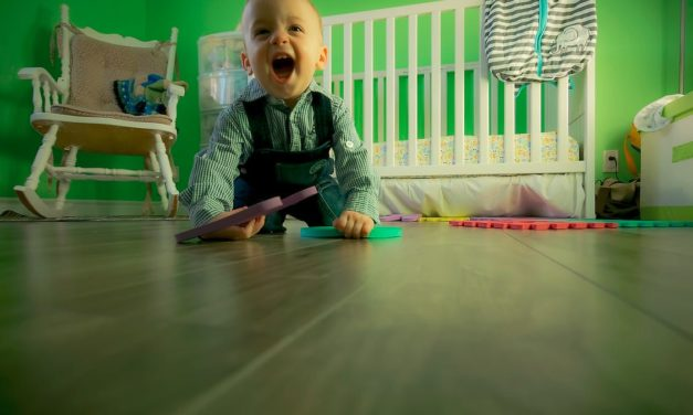 How to turn your basement into a cozy kids' playroom