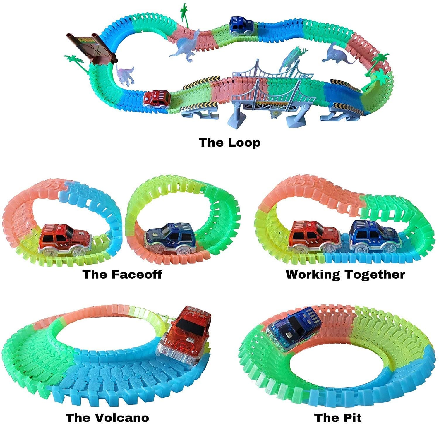 create your own train track