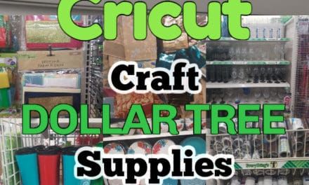 The Best Cricut Craft Dollar Tree Supplies