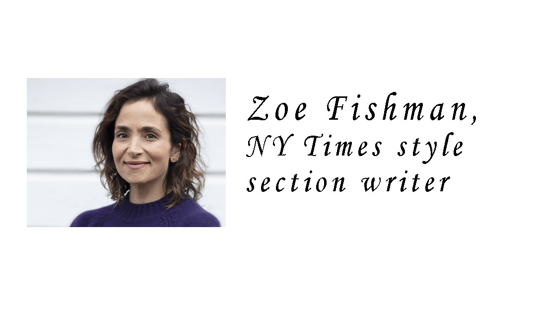 Zoe Fishman on Life, Love and Single Parenting