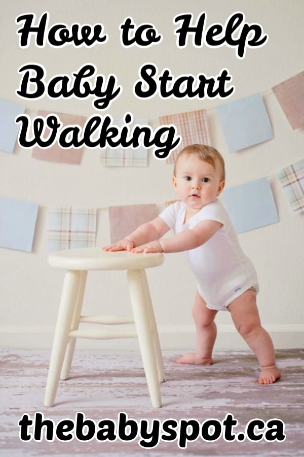 teach your baby how to walk