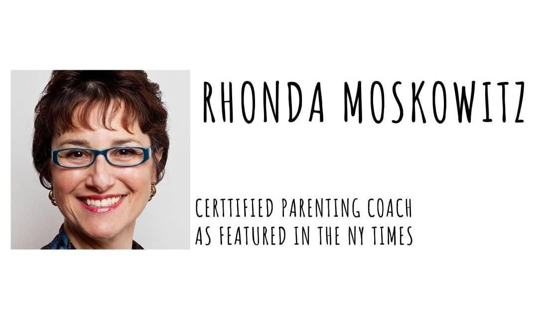Parenting During Quarantine with Rhonda Moskowitz