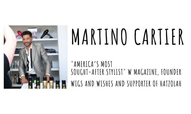 Martino Cartier Has Wigs Made For Cancer Patients