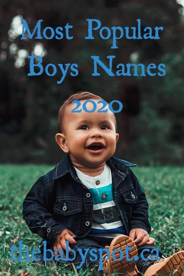 top boys names 2020